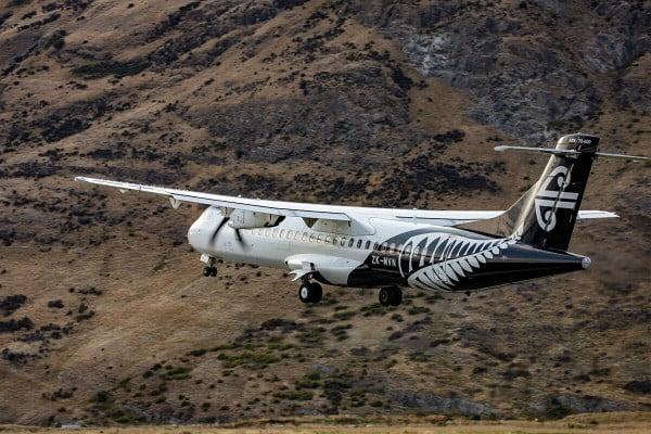 Air New Zealand ATR Exterior in flight