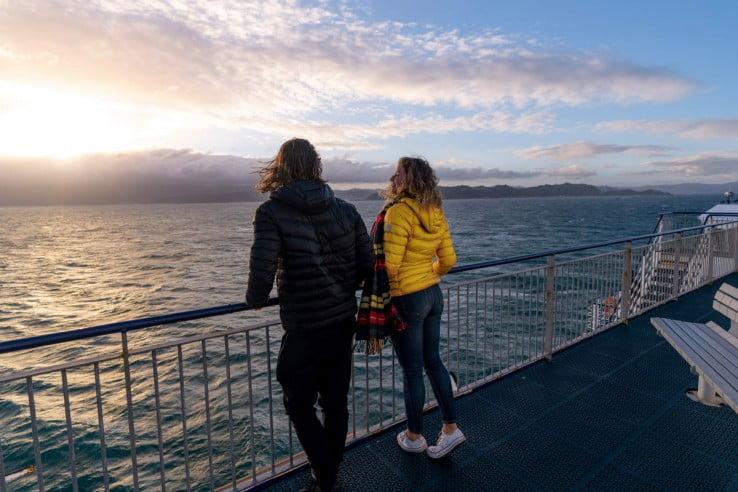 Bluebridge crossing Cook Strait