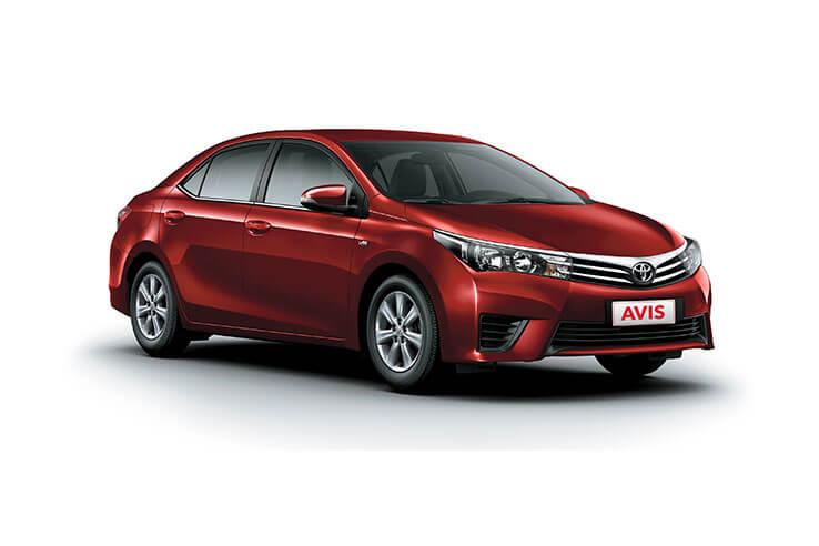 Fiji fleet - Avis - Toyota Corolla - Group C.
