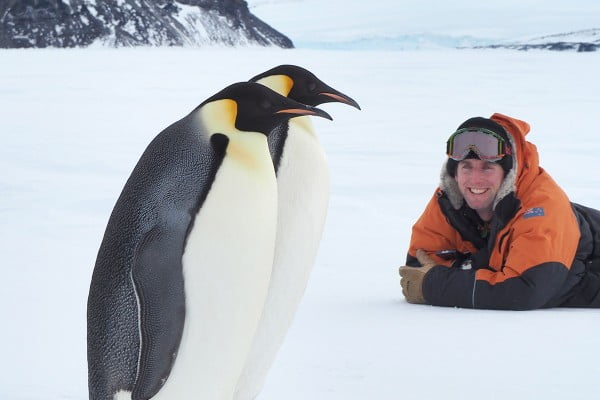 Chris Long, Antarctica.