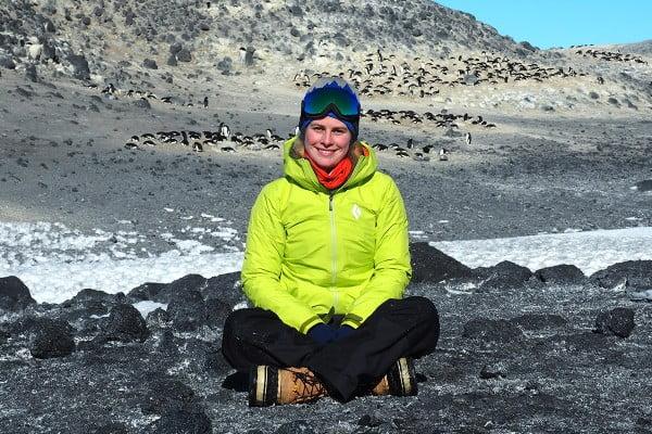 Sarah Mockett, Antarctica.