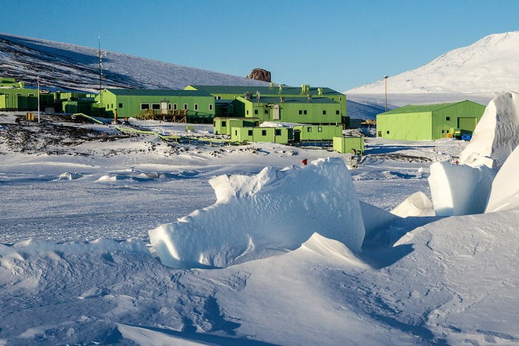 Scott Base, Antarctica.