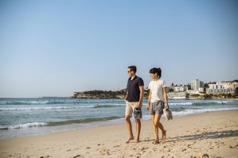 Bondi to Manly walk, Bondi Beach, Sydney, NSW, Australia