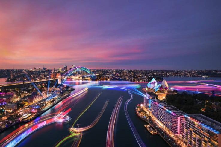 Vivid Sydney 2019, NSW, Australia