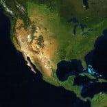 USA the Kiwi way map of the USA.