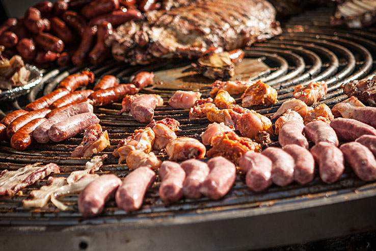 BBQ meats, Buenos Aires, Argentina.