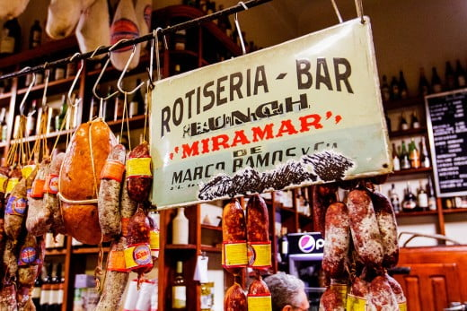 Deli meat, Buenos Aires, Argentina.
