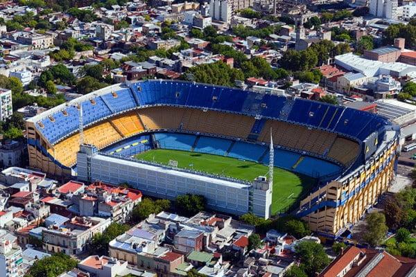 Stadium, Buenos Aires, Argentina.