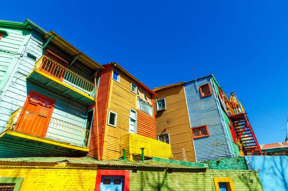 La Boca neighbourhood, Buenos Aires, Argentina.