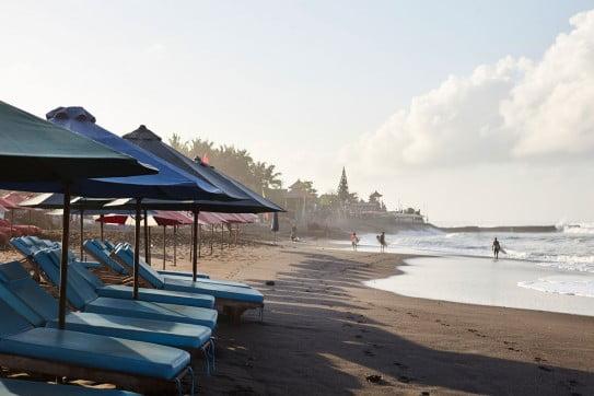 Bali beachfront.