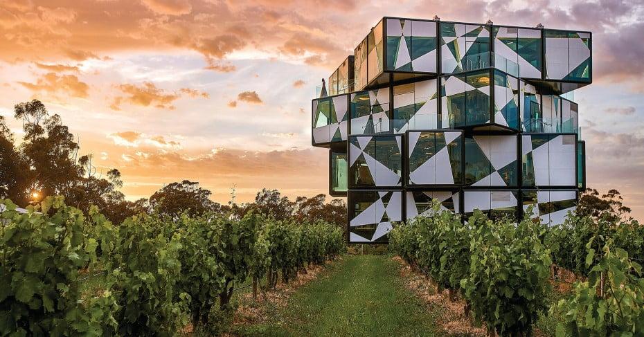 d'Arenberg Cube Restaurant, Australia.