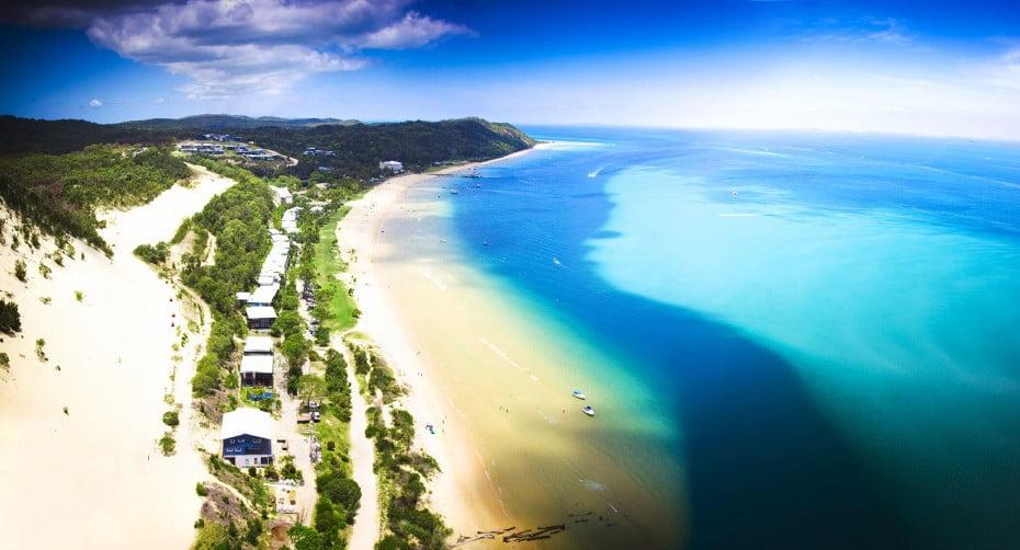 Moreton Island, Brisbane, Queensland, AU.