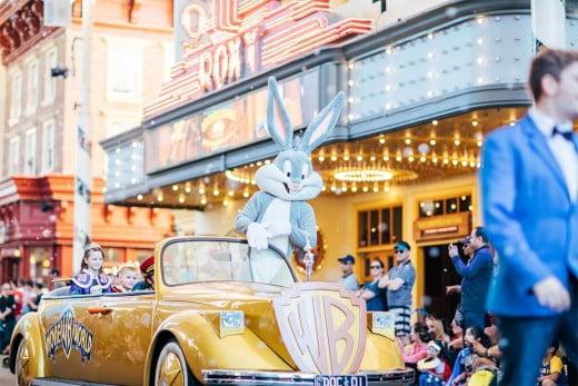 Bugs Bunny, Movie World, Gold Coast, Australia.