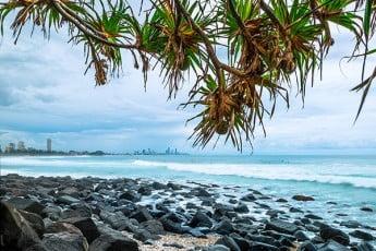 Burleigh Heads, Gold Coast, Australia.