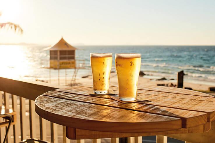Beers, Coolangatta, Gold Coast, Australia.