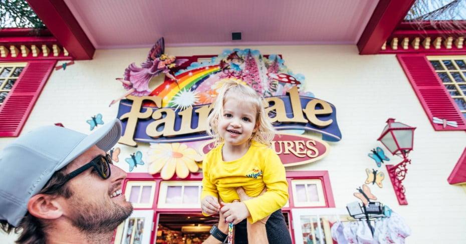 Dreamworld outside Fairytale Treasures. Gold Coast, Australia.