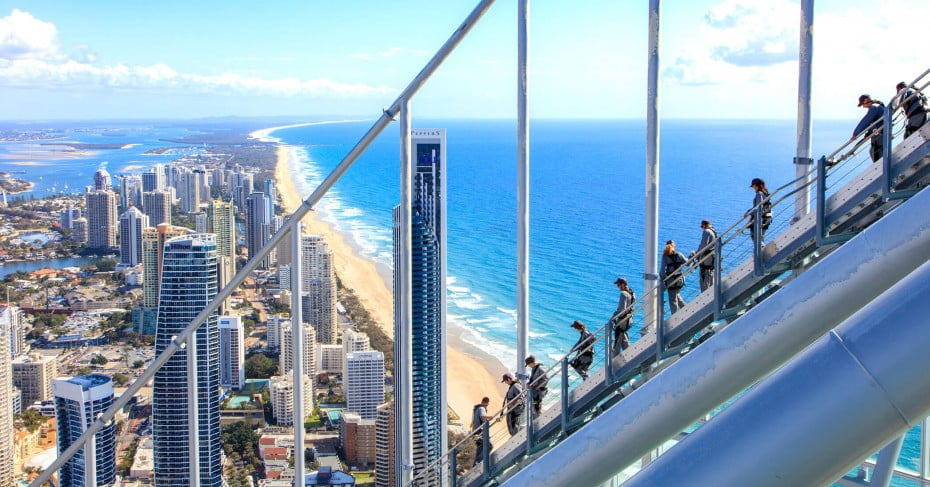 Experience the SkyPoint Climb, Gold Coast, Australia.
