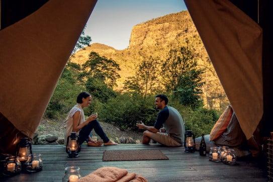 Nightfall Wilderness Camp, Gold Coast, Australia.