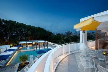 The Star pools, Gold Coast, Australia.