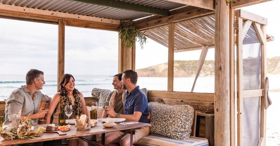 Beach Taverna, Kangaroo Island, Australia.