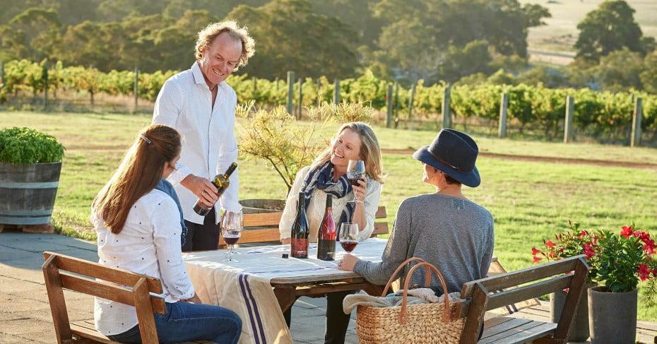 Wine tasting, Margaret River, Australia.