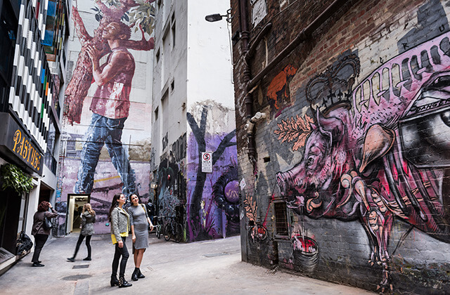 ACDC Lane, Melbourne, Australia
