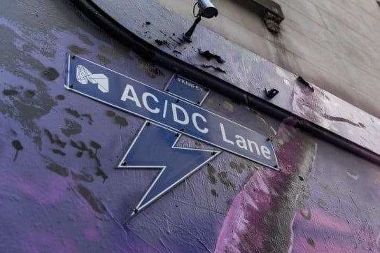 ACDC Lane, Melbourne, Australia.