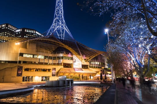 Melbourne Arts Centre, Melbourne, Australia.