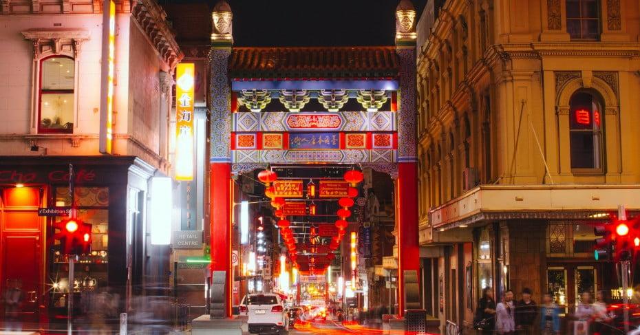 Chinatown, Melbourne, Australia.