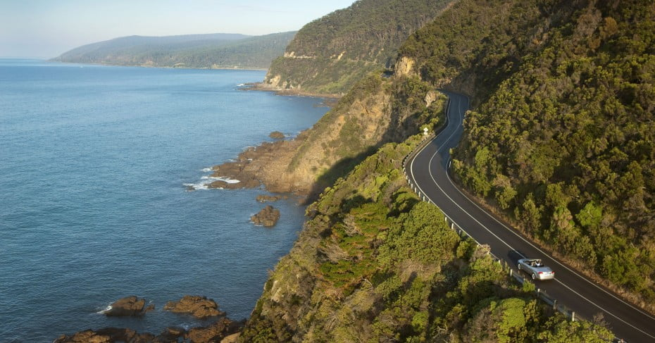 Great Ocean Road, Melbourne, Australia.