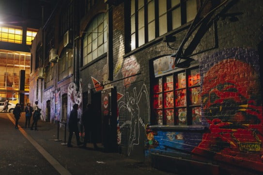 Cherry Bar, AC/DC Lane, Melbourne, Australia.