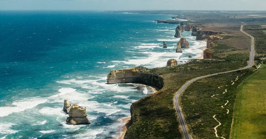 Ocean View Road, Melbourne, Australia.