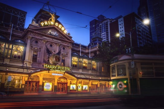 Princess Theatre, Melbourne, Australia.