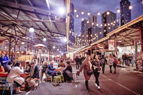 Queen Victoria Market, Melbourne, Australia.