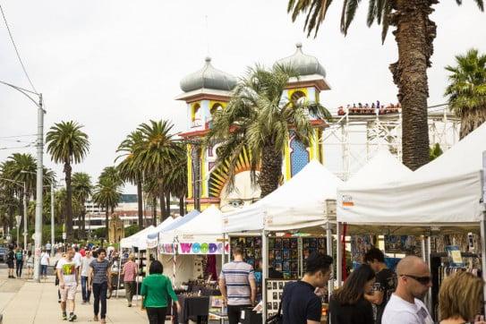St Kilda Market, Melbourne, Australia.