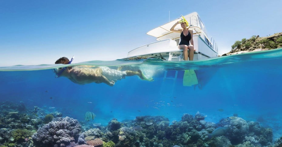 Reef snorkelling, North Queensland, Australia