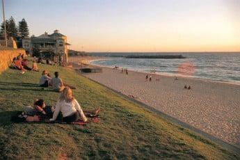 Dawn, Perth, Australia.