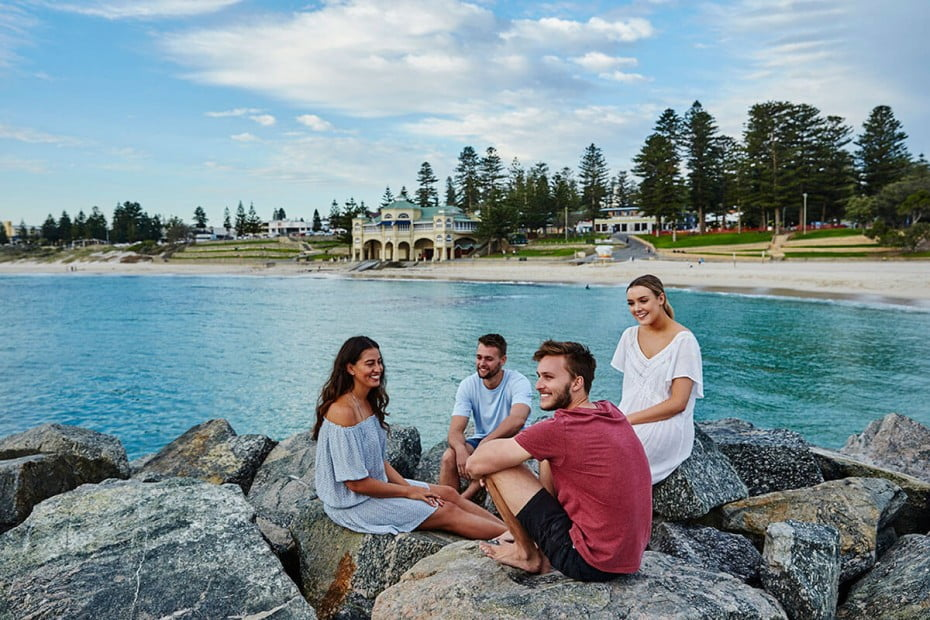 Cottesloe Beach, Perth, Australia.