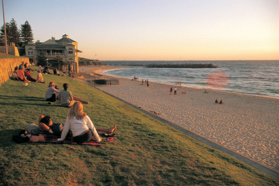 Beachfront, Cottesloe Beach, Perth.