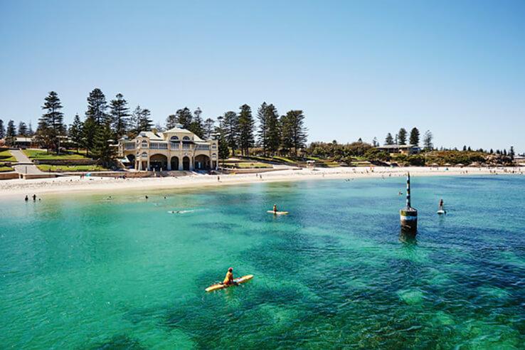 Cottesloe Beach, Perth, Australia.
