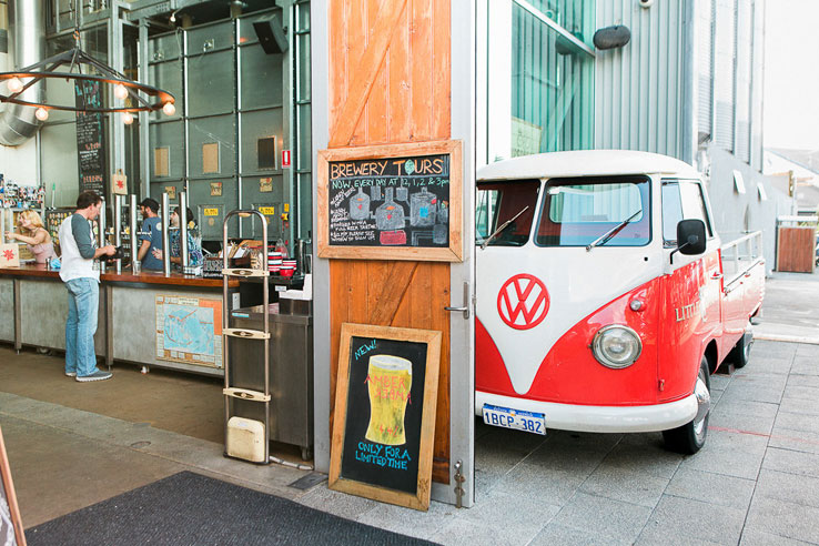 Little Creatures Brewery, Perth.