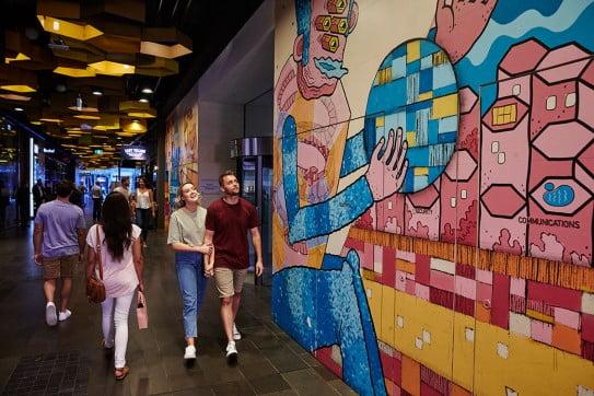 Western Australia's street art, Perth, Australia.