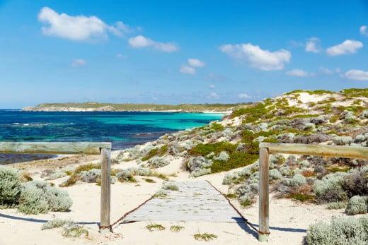 Strickland Bay, Rottnest Island, Perth.