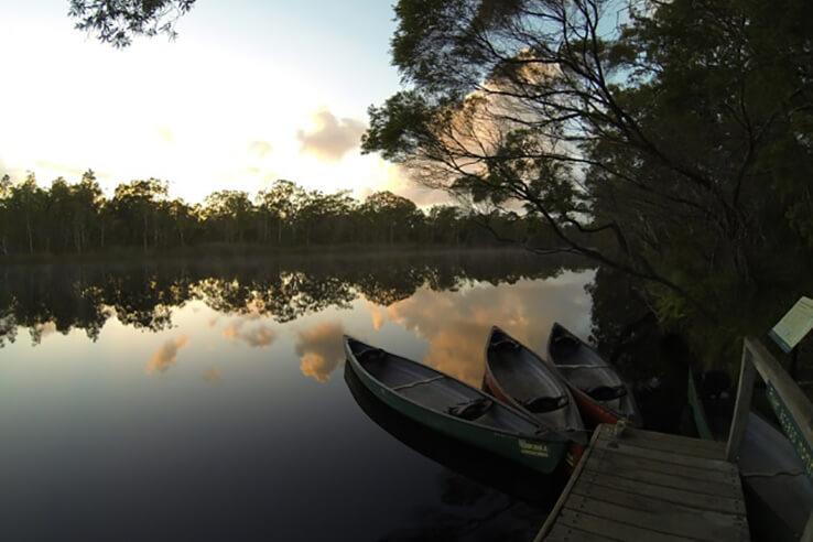 Morning at Everglades, Sunshine Coast, Australia.