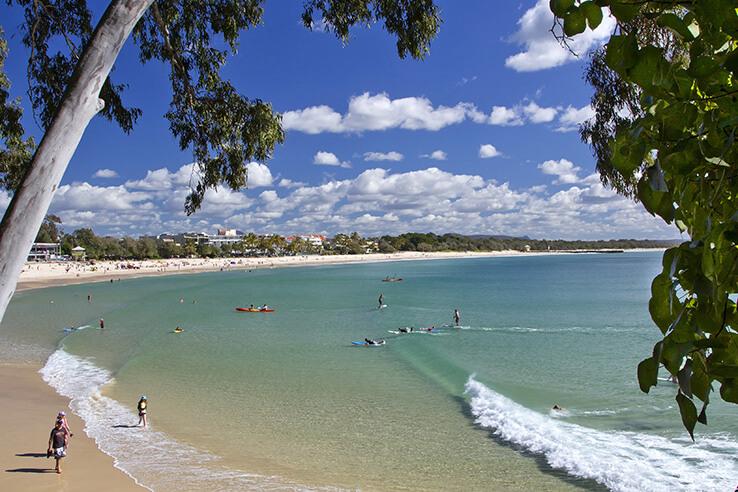 Tea Tree Bay, Noosa, Sunshine Coast, Australia.