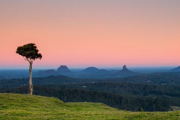 One tree hill, Glass House Mountains