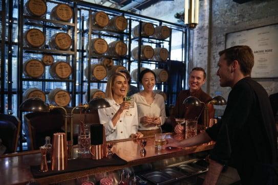 Archie Rose Distillery Co., Rosebery, Sydney, Australia.