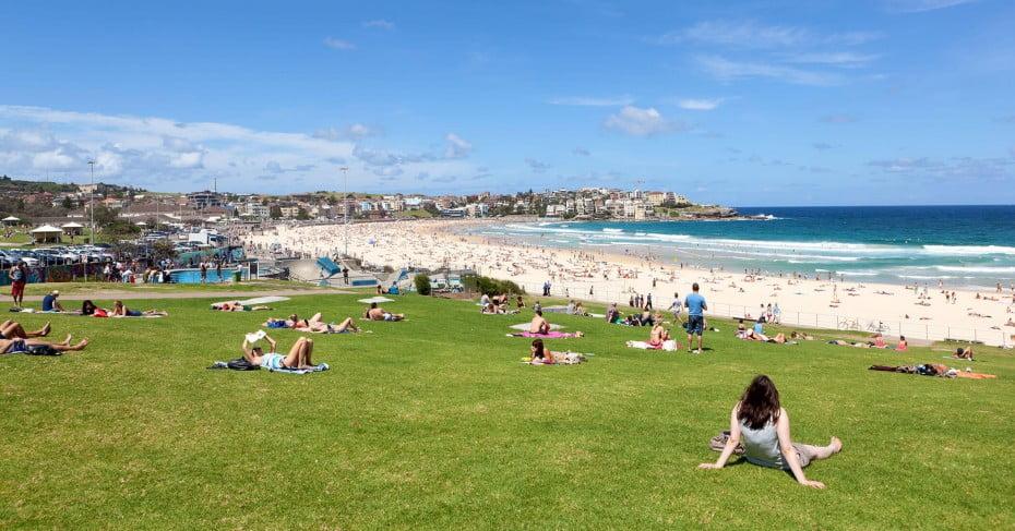 Sydney Bondi Beach, Australia.