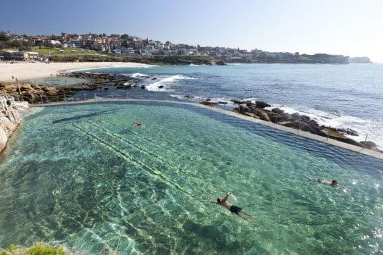 Bronte Baths, Bronte beach, Sydney, Australia.