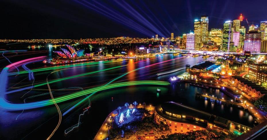 Vivid Sydney 2017, Opera House, Sydney, Australia.